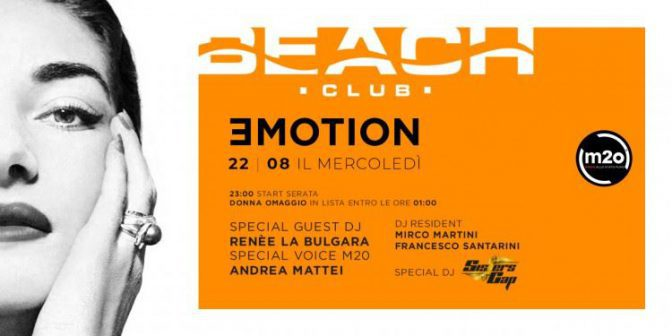 eventi in versilia beach club