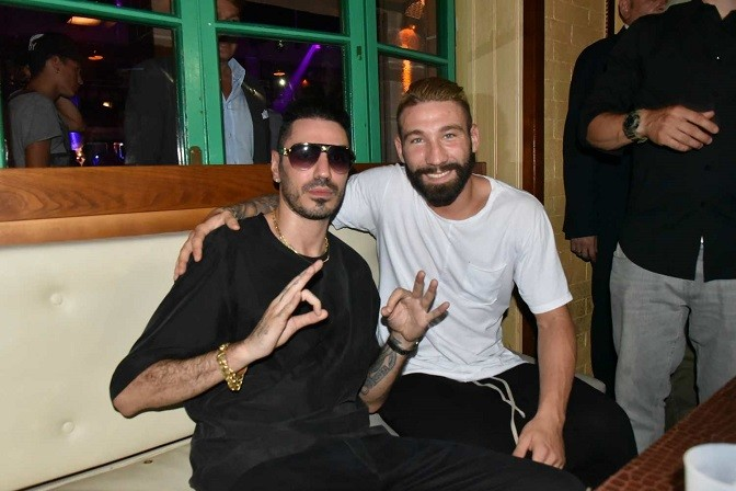Marracash discoteche in versilia con Tonelli
