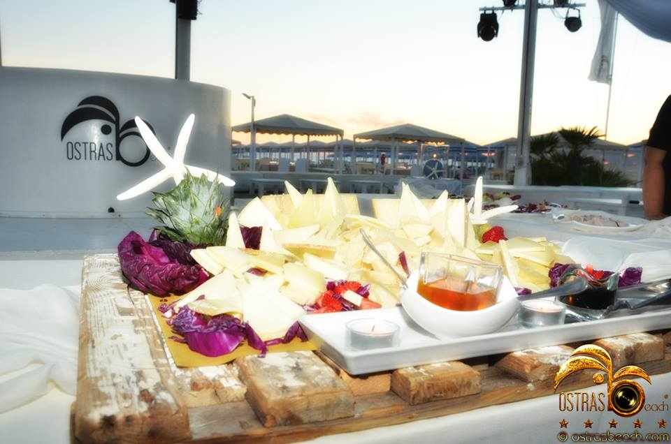 aperitivo ostras beach