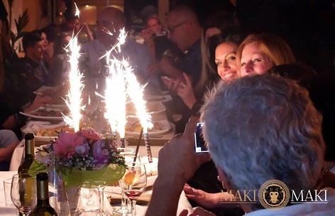 festeggiare un compleanno a Viareggio