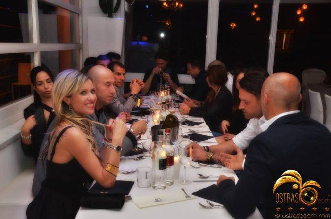 foto ostras cena ristorante
