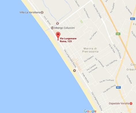 ostras beach stabilimento balneare versilia