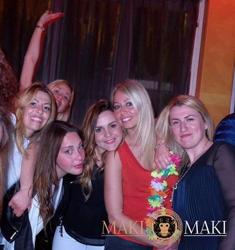 ragazze viareggio maki maki discoteca