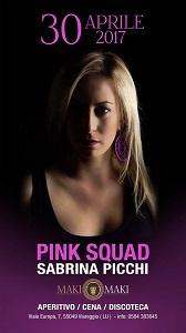 serate in versilia sabrina picchi pink squad maki maki viareggi