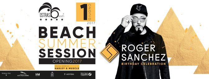 Roger Sanchez Ostras Beach Club Versilia