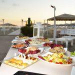 discoteca ostras aperitivo tramonto