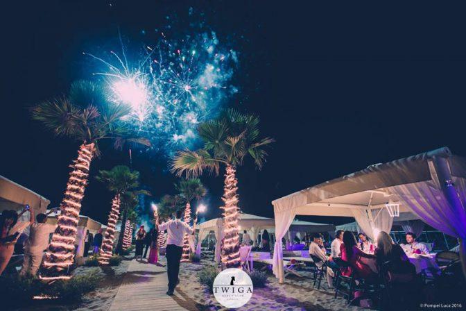 discoteca twiga beach cena spettacolo