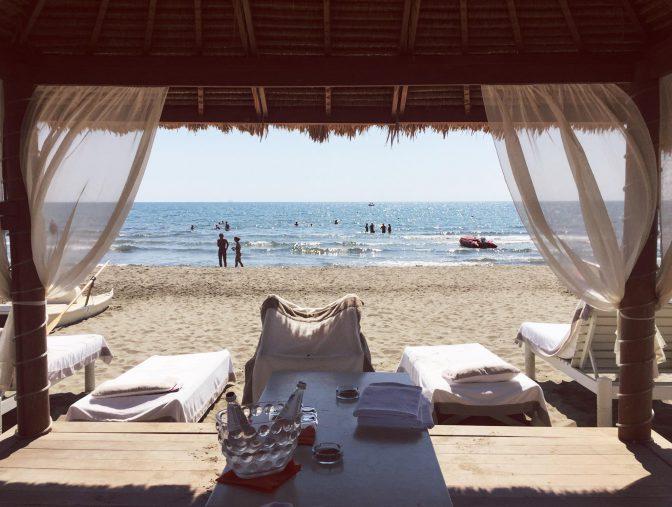 spiaggia twiga beach club prezzi