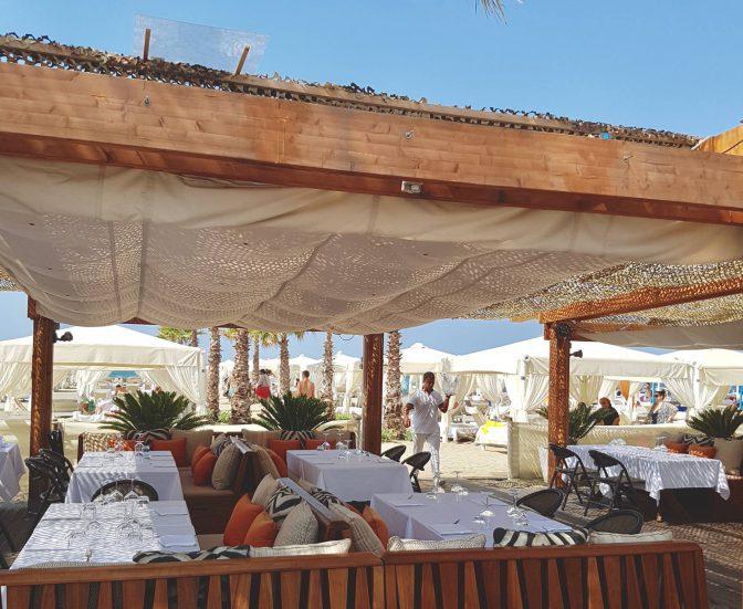 twiga beach club prezzi ristorante
