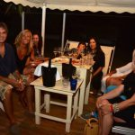 foto ostras beach club serate eleganti