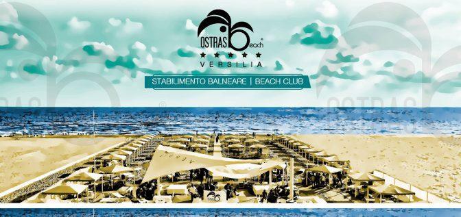 ostras beach club in versilia spiaggia