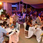 ristorante ostras beach club sulla spiaggia