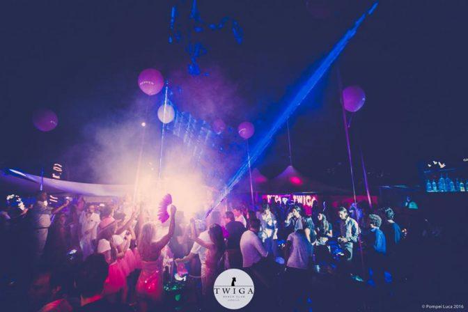 sabato twiga beach discoteca