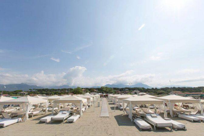 twiga beach club spiaggia