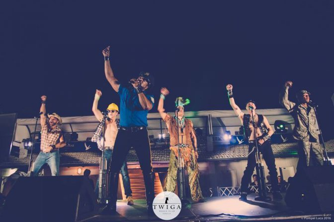 village people twiga beach discoteca