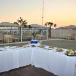 foto ostras beach aperitivo al tramonto