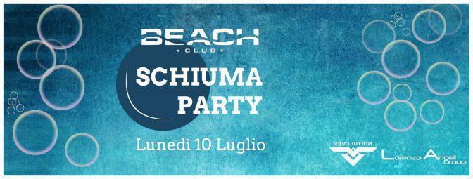 schiuma party beach club