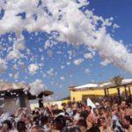 schiuma party beach forte dei marmi