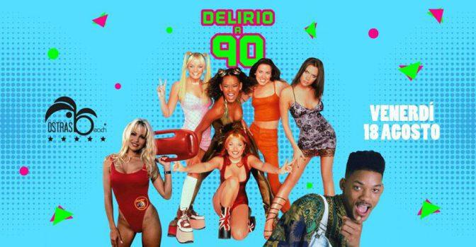 Ostras Beach musica anni 90