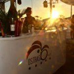aperitivo al tramonto ostras viareggio