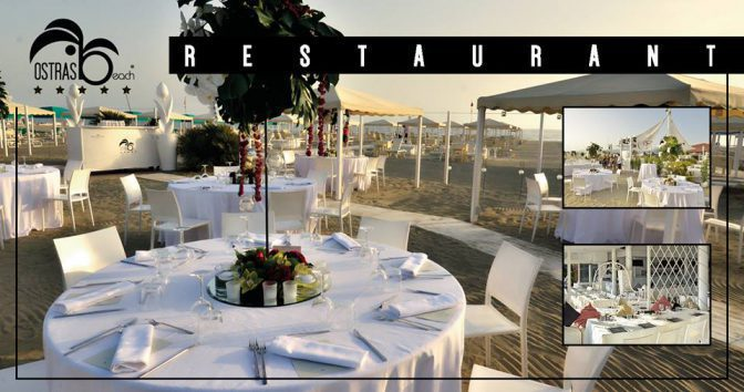 ristoranti versilia ostras beach club