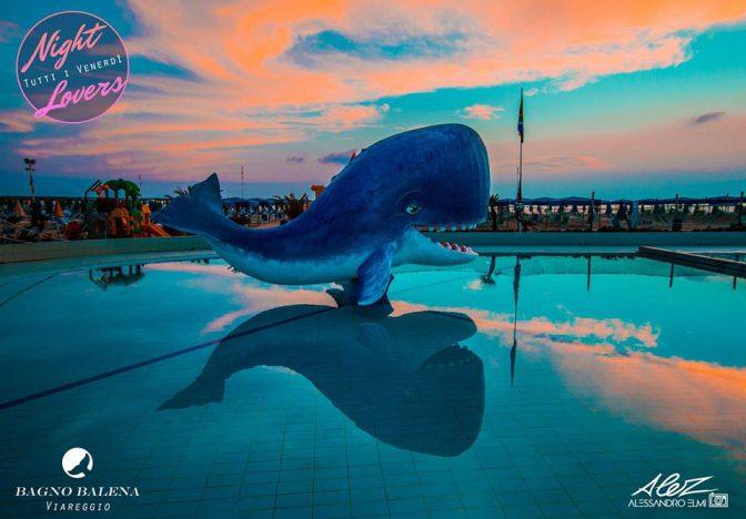 Bagno Balena Marina Di Pisa : Tramonto bagno balena discoteche versilia