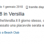 recensione capodanno beach club