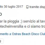 recensione nubilato ostras beach