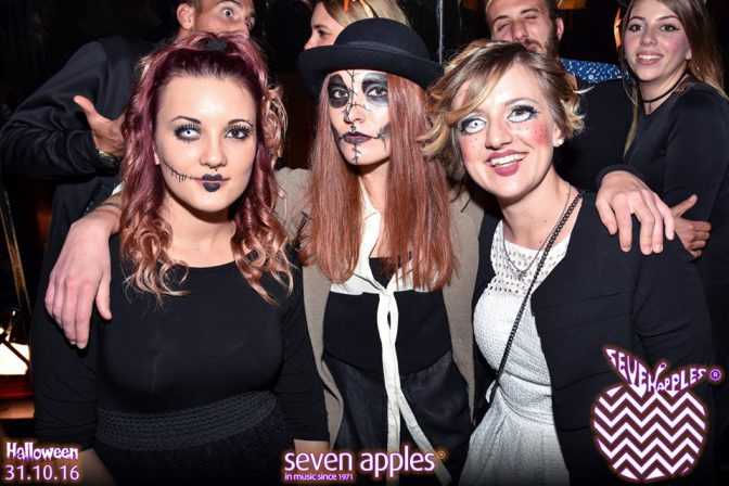 versilia halloween discoteca seven