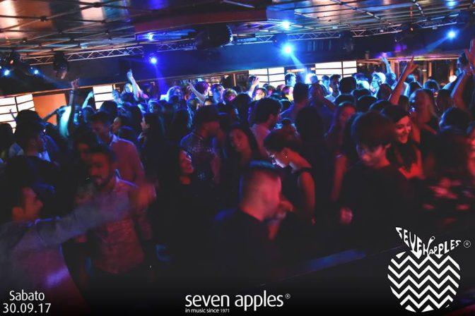 discoteche sabato seven apples