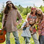 famiglia hippie