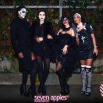 halloween seven apples