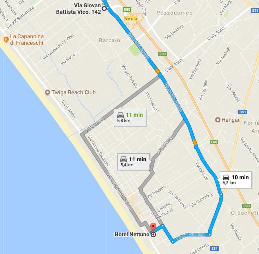 indirizzo hotel marina di pietrasanta