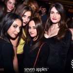 pubblico sabato sera discoteca seven apples