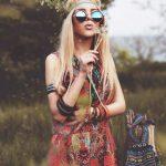 ragazza hippie