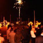 ristorante con fuochi d'artificio capodanno versilia