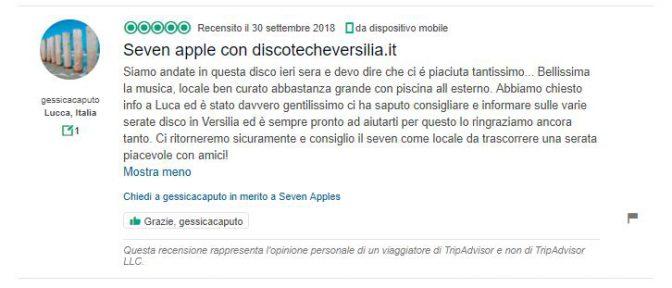 recensioni seven apples