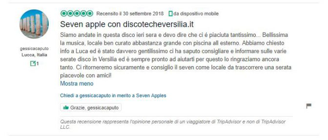 recensioni sal silvestro seven apples