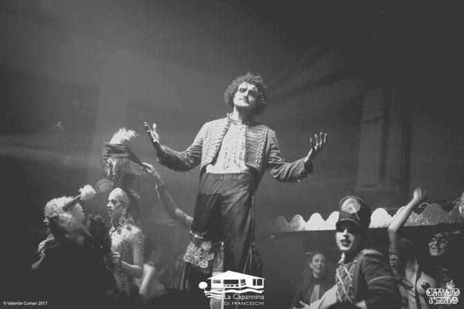 show circo nero capannina