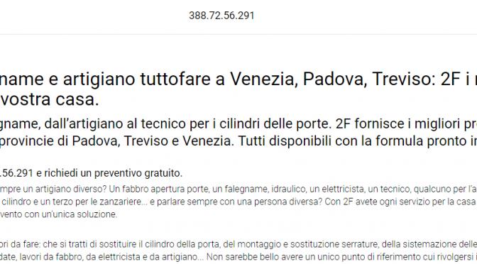 Artigiano Venezia Treviso E Falegname Padova 2fsas I Migliori Per
