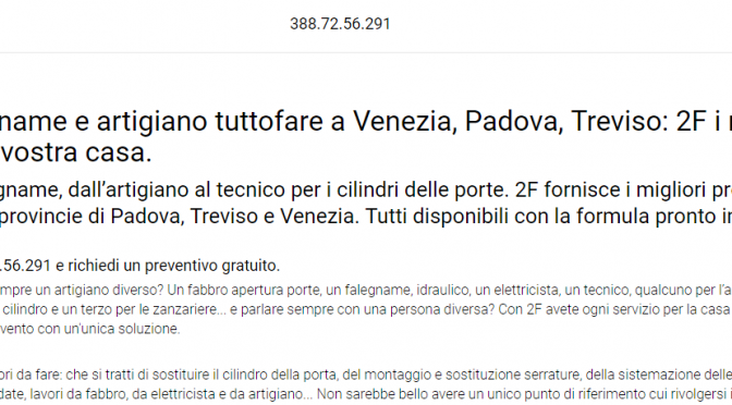 artigiano venezia