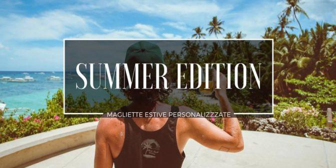 magliette personalizzate estive
