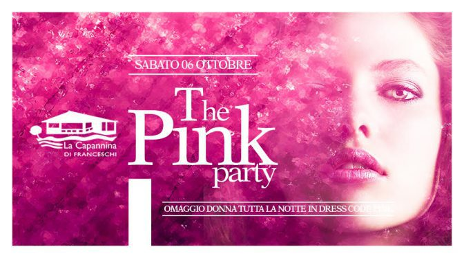 pink party capannina
