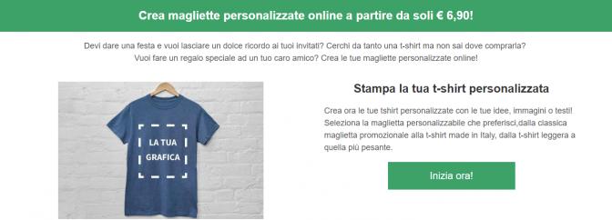 T shirt online crea la tua maglietta personalizzata su for Crea la tua planimetria online