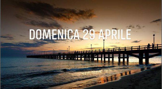 domenica 29 aprile in versilia