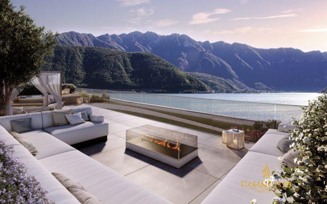 lago di lugano case di lusso