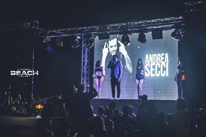 andrea secci domenica beach club