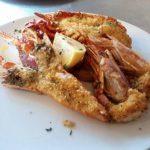 crostacei gratinati ristorante lobster forte dei marmi