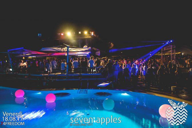 pool party venerdì seven