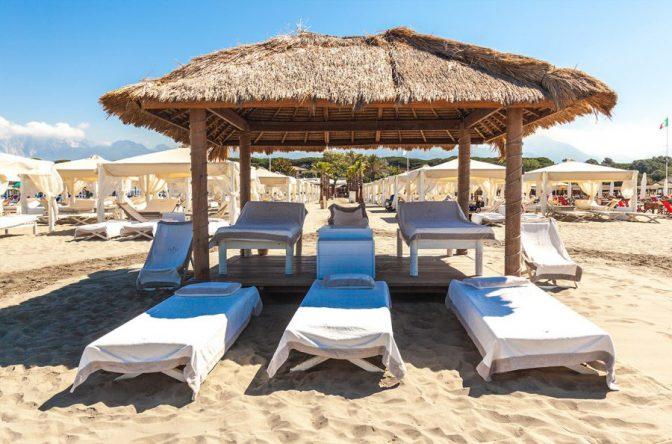 tende twiga beach spiaggia